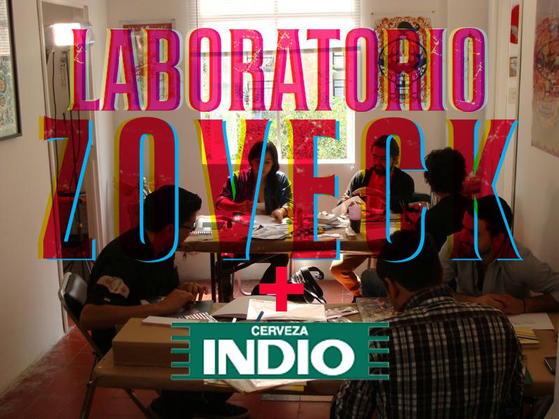Laboratorio Zoveck + Cerveza Indio