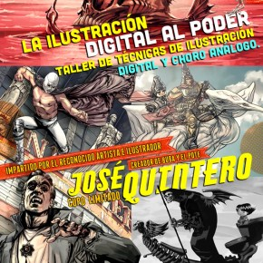 Taller LA ILUSTRACIN DIGITAL AL PODER