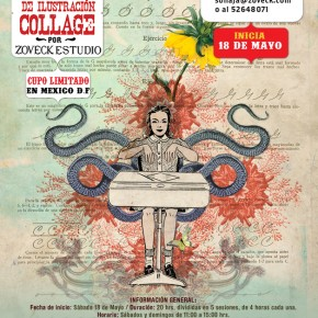 TALLER DE ILUSTRACIN COLLAGE MAYO 2013