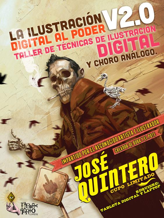 Ilustración digital al poder V2.0 por José Quintero