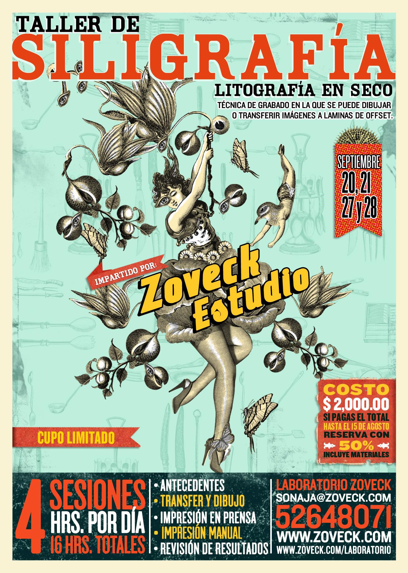TALLER DE SILIGRAFÍA 2014