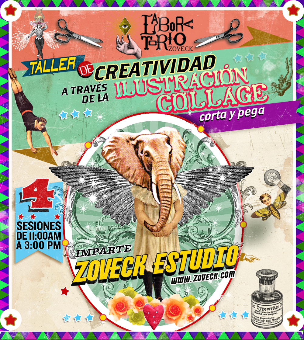 TALLER DE ILUSTRACIÓN COLLAGE