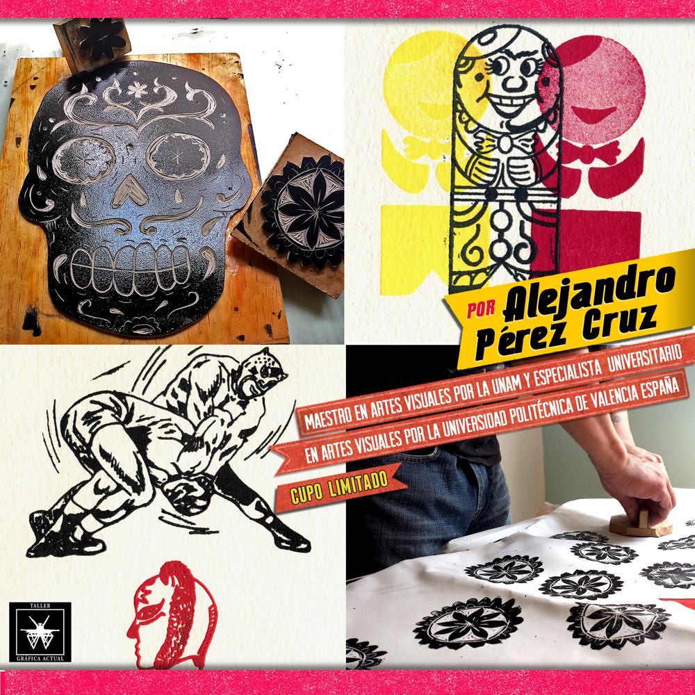 Taller de creación de sellos, Ilustrando con sellos